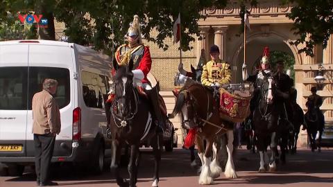 Trình diễn ngựa hoàng gia nhân Đại lễ Bạch Kim của Nữ hoàng Anh