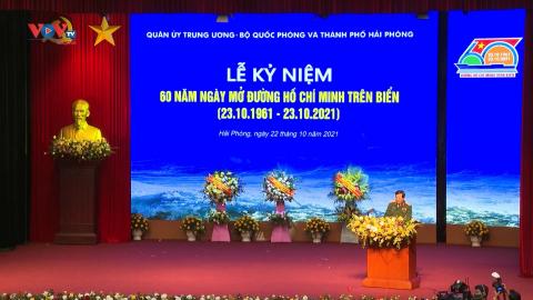 Tự hào tiếp nối truyền thống 60 năm đường Hồ Chí Minh trên biển