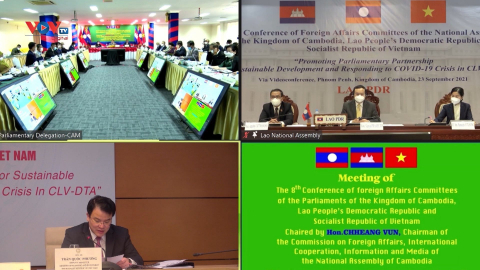 Việt Nam - Lào - Campuchia tăng cường hợp tác vì phát triển bền vững và ứng phó với khủng hoảng Covid-19