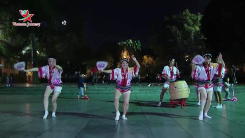 Vũ điệu Lục Thủy - Điệu nhảy Awa Odori, Nhật Bản
